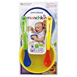 Munchkin Love a Bowls, 10 Piece Bowl and Spoon Set