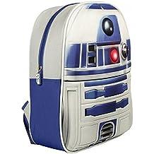 Artesanía Cerdá Star Wars Mochila Infantil, Color Blanco y Azul