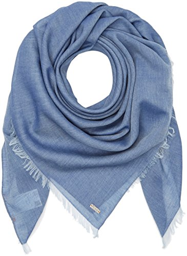 BOSS Casual Damen Schal Nafame, Blau (Dark Blue 405), One size