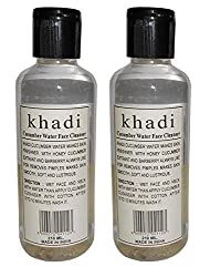 Khadi Cucumber water face cleanser- 420ml Twin pack