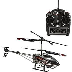 Sky Rover - Helicóptero teledirigido 3 canales & giros - 45 cm (ColorBaby 41827)