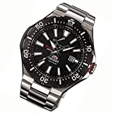 Orient Mens Automatic Watch with Black Dial Analogue Display Stainless Steel SEL07002B0