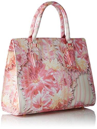Belmondo Damen 740272 Schultertasche, 40x22x11 cm Pink (rosa combi)