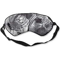 Eye Mask Eyeshade Paining Dog Cat Sleep Mask Blindfold Eyepatch Adjustable Head Strap preisvergleich bei billige-tabletten.eu