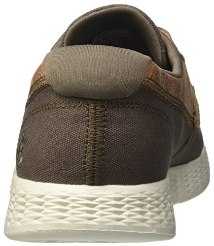 Skechers Herren On-The-Go Glide-High Seas Bootschuhe Grün (Khaki)