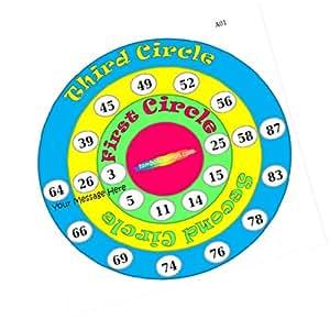 Party Stuff Pingu Theme Tambola Housie Tickets - Pingu Smiles Text kukuba 2 - Pingu (12 Cards) | Kitty Games