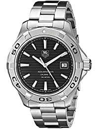 Stainless Steel Automatic Aquaracer Black Dial