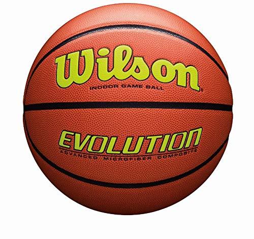 WILSON Sporting Goods Offizielle, Größe 29,5, gelb, Evolution Indoor Game Basketball