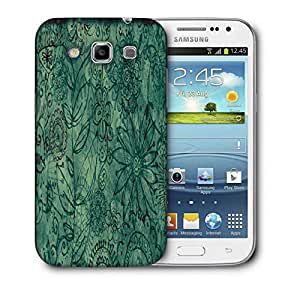 Snoogg Abstract Floral Design Printed Protective Phone Back Case Cover For Samsung Galaxy Samsung Galaxy Win I8550 / S IIIIII