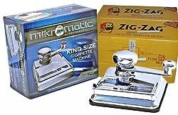Mikromatic - Mini Top-o-Matic Zigarettenstopfmaschine + 1.000 ZIG ZAG Filterhülsen