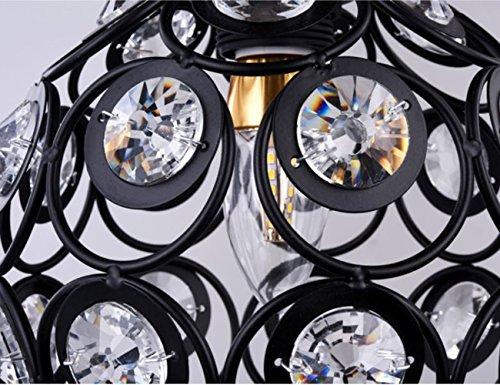 Plafoniere Per Le Scale : Dellemade lampadario con cristalli a plafoniera per scale bar