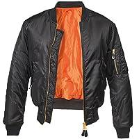 Brandit MA1 Bomber Jacket Black L