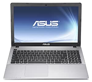 Asus F550CC-XX125H 39,62 cm (15,6 Zoll) Notebook (Intel core_i3 3217U 1,8GHz, 4GB RAM, 500GB HDD, NVidia GT 720M, DVD, Windows 8) grau