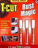T-Cut ruggine Magic confezione tripla Pen RIMUOVI ruggine trattamento prevenzione