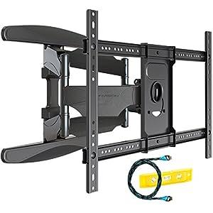 Invision TV Wandhalterung   Ultrastarker Doppelarm   Schwenkbar Neigbar Für  94   178 Cm (37