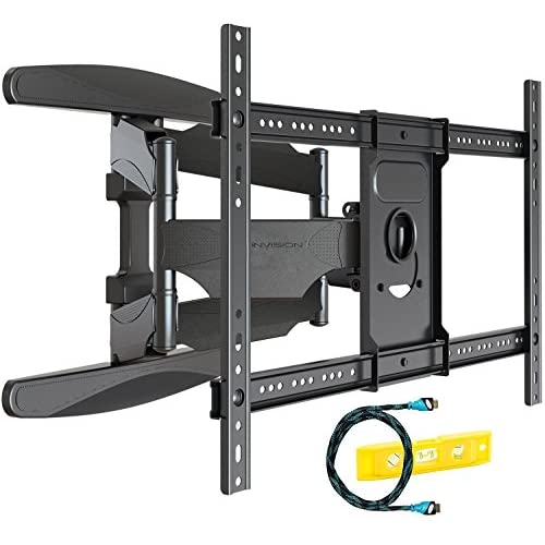 51xD7VnGi2L. SS500  - Invision Ultra Strong TV Wall Bracket Mount Double Arm Tilt & Swivel for 37 - 70 Inch (94 - 178cm) LED LCD OLED Plasma & Curved Screens - Up to VESA 600mm(w) x 400mm(h) - Max Load 50kg (HDTV-DXL)