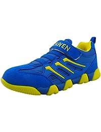 DADAWEN Mixte Enfant Sneaker Chaussure