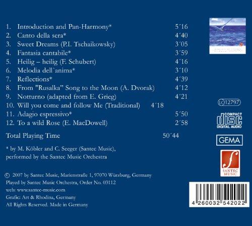 Momente der Stille (Moments of Silence) – Entspannungsmusik für Körper und Seele mit Panflöte und Harfe - 2