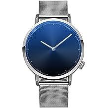 ZODOF Relojes Hombre Reloj de Pulsera de Analógico de Cuarzo Relojs Elegante Impermeable Negocios Relojes para