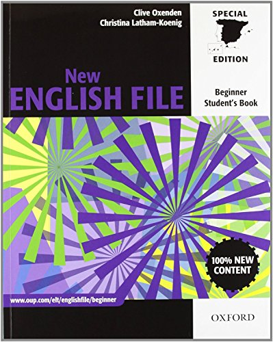 New English File Beginner: Student's Book and Workbook With Answer Key Multi-ROM Pack (New English File Second Edition)