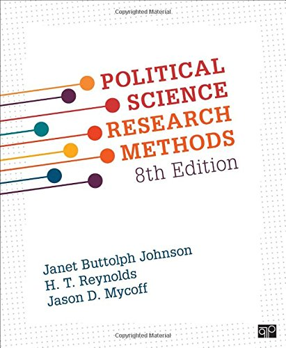 Political Science Research Methods por Janet Buttolph Johnson