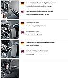 KUDA Telefon Konsole passend für Audi TT ab 09/06 Mobilia/Kunstleder schwarz