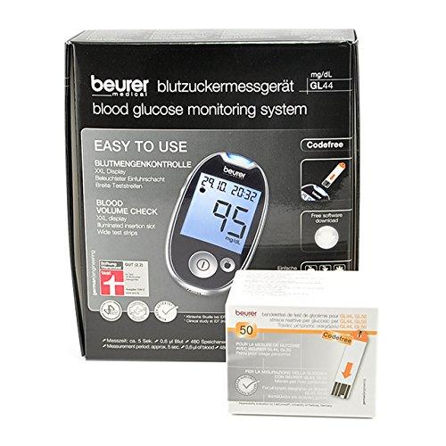Beurer Blutzuckermessgerät  GL 44 im Test