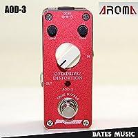Paxten (TM) Mini effetto a pedale/Aroma aod-3Overdrive/distorsione AC/DC adattatore jack True Bypass