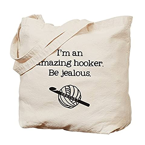 CafePress - I'm An Amazing Hooker - Natural Canvas Tote