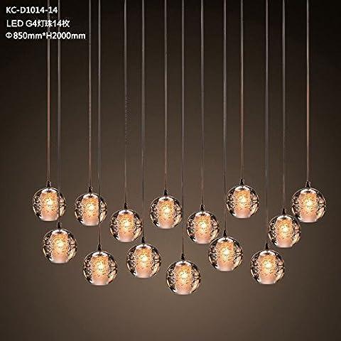QWER Personalità Creative bolla bulbo di vetro