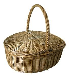 The Uppercrust Standard-Deckelkorb, Shrewsbury Basket