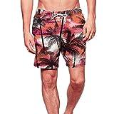 B-commerce Herren 3D gedruckt lustige Badehose schnell trocknend Beachwear Sport Laufen Schwimmen Board Shorts