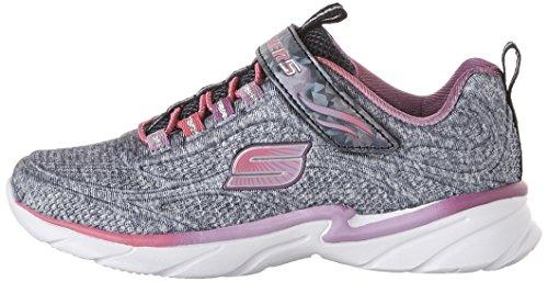 Skechers Swirly Girl-Shimmer Time blau / grau - rosa