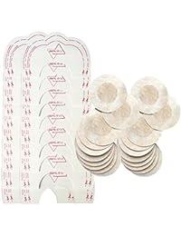 Mujer 10 Pares Desechable Pegatinas Pezón 10 Pares Instant Bare Lift Breast Enhancer Tape