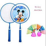 ZHAOHUIFANG Giocattolo Disney Bambini Racchetta Da Badminton Racchetta Scuola Materna Doppio Colpo Bambino Palla 3-12 Anni Giocattolo,#3