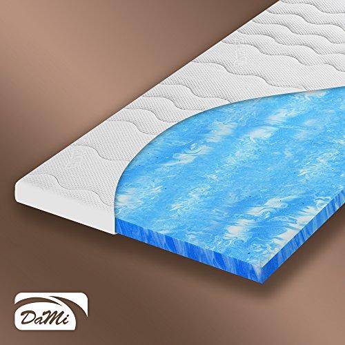 Topper, Matratzenauflage für Matratze oder Boxspringbett, GelTec Schaum, Höhe ca. 10 cm (180 x 200 cm) thumbnail