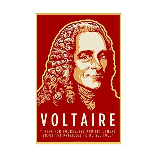 CafePress Mini-Poster Voltaire