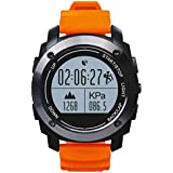 Sport Smartwatch Bluetooth Smart Uhr,24 Stunden Pulsmesser,Smart Anti-verloren,Vollfarb Display,Schlafüberwachung,kapazitiver Touch Screen Sport uhr für Android Samsung,HTC,Sony,LG,Blackberry,Huawei