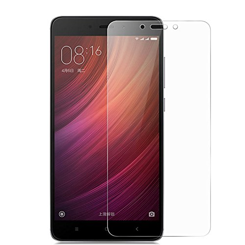 Cenizas Premium Coated Tempered Glass Screen Protector Film Guard For Xiaomi Redmi 4, Anti-Explosion With All Finger Print Sensor & Camera Cutting