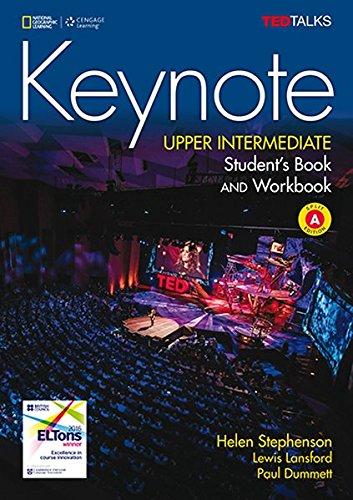 KEYNOTE BRE UPPER-INTERMEDIATE SB/WB COMBO SPLIT A/DVDROM/WB por Paul Dummett