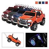 Actionbikes Motors Kinder Elektroauto Ford Ranger Original Lizenz Kinderauto Kinderfahrzeug Elektro Auto Spielzeug Für Kinder (Orange Lackiert)