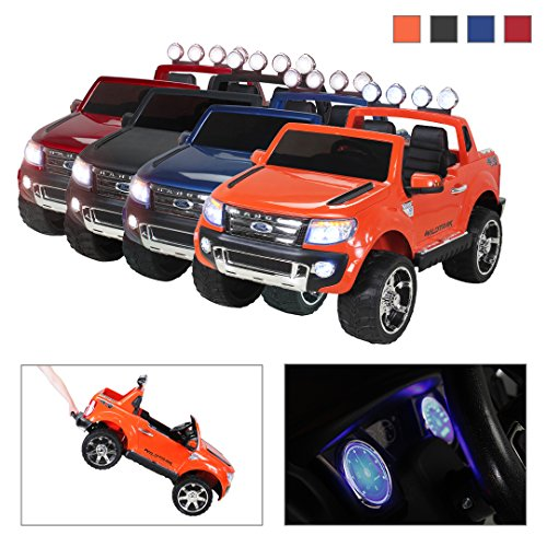 Coche eléctrico para niños Ford Ranger 2 plazas 12 V Radio Control