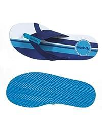 Reebok V45595 - Zapatillas de estar por casa de sintético para hombre blanco blanco