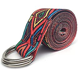 Nider Cinturón elástico para Yoga   Cierre Metálico