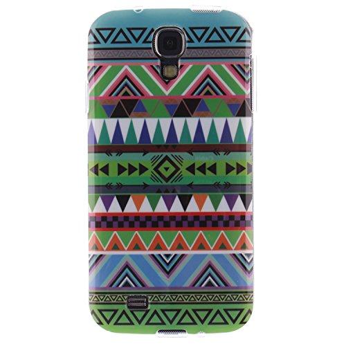 Nancen Samsung Galaxy S4 / I9500 (5,0 Zoll) Ultra Slim Weich TPU Material Design Silikon Handytasche Schutzhülle, Painted Mode Anti-Kratz Handyhülle Case Hülle Backcover Tasche