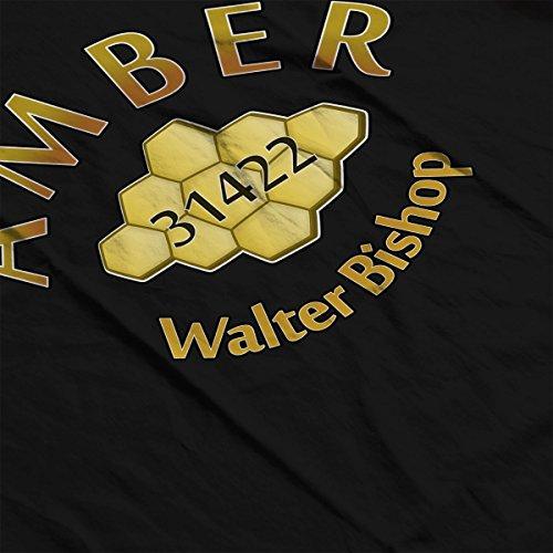 Amber 31422 Fringe Men's Vest Black