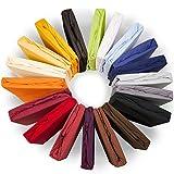 aqua-textil XL Spannbettlaken 200x220-220x240 Wasserbett & Boxspringbett Jersey in Übergröße Mako-Baumwolle Elastan Royal Bettlaken 0011199 creme gelb