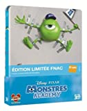 Monstres Academy Combo Blu-Ray 3D Steelbook Edition Spéciale
