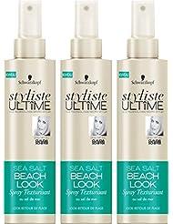 Styliste Ultimes Sea Salt Beach Spray Texturisant 200 ml - Lot de 3