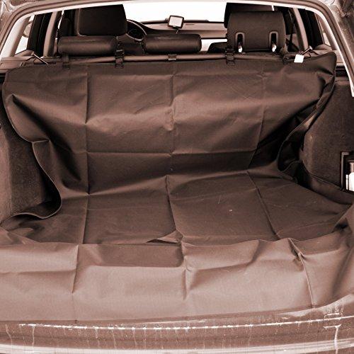 LuckyPet Kofferraumschutzdecke Kofferraumdecke Hundedecke braun schmutzabweisend Auto Hunde Katzen Haustiere (Code LU8022)